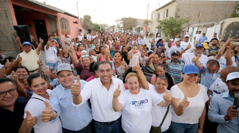 Nuestra campaña sigue creciendo: Arturo de la Rosa