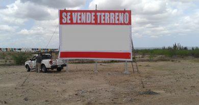 """Ofrecen terrenos a la venta en la próxima colonia """"Forjadores"""""""