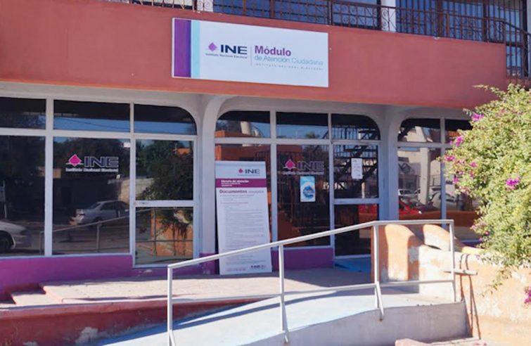 Cierran Modulo Del Ine En La Colonia Mezquitito Nbcs Noticias