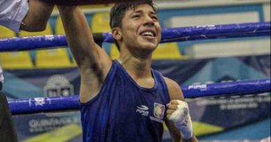 """Pedro """"Pacqueadito"""" Sánchez campeón nacional de los 50 kg en la ON"""