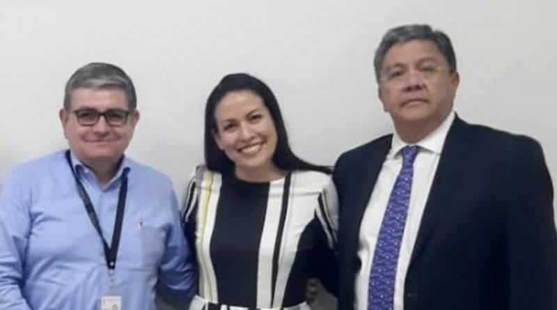 Sostiene Milena Quiroga reunión con directivos de Conagua