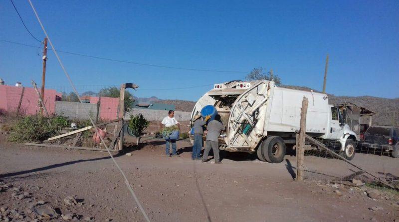 Buscan reforzar operativos de recolección de basura durante periodo vacacional