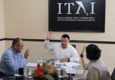 Reeligen a Conrado Mendoza como Comisionado Presidente del ITAI BCS por 2 años