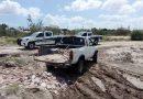 Sorprenden Policías Municipales a persona arrojando escombro al Arroyo El Cajoncito