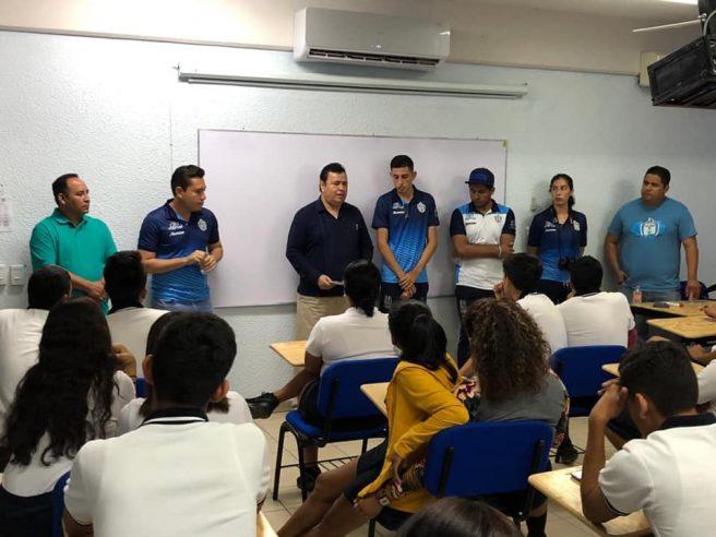 Visita Club De Futbol La Paz F C A Estudiantes De La