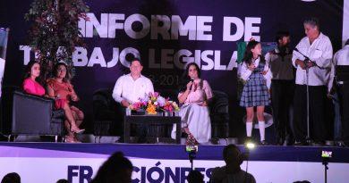 Rinden informe Diputados Perla Flores y Rigoberto Murillo