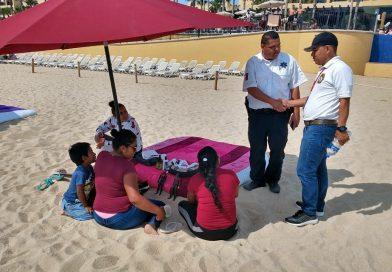 Delimita Inspección Fiscal, zonas para vendedores ambulantes en Los Cabos