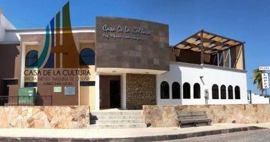 Revelan nueva imagen de la Casa de la Cultura de Cabo San Lucas