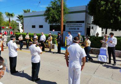 Inauguran unidad hospitalaria y de terapia intensiva en Hospital Militar Regional