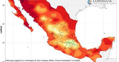 """Advierte PCE temperaturas por encima de los 45ºC por efectos de """"La Canicula"""""""