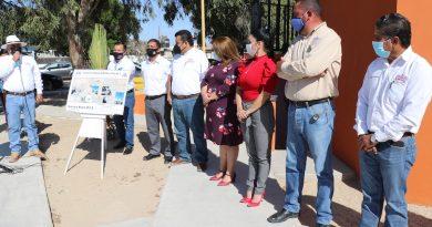 Inauguran obras de mejora en la comunidad de Guerrero Negro