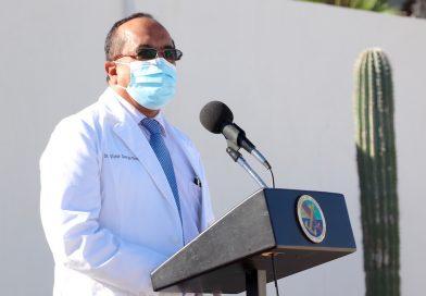 Reconoce Gobierno de BCS labor médica de la Armada de México durante pandemia