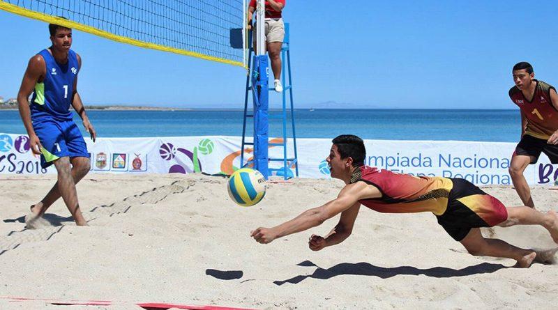 Sigue siendo BCS sede del Nacional Juvenil de Voleibol de Playa