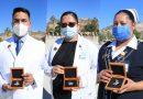 Condecoran a personal de salud por su labor frente al COVID-19