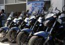 Entregan unidades y equipamiento a la Policía Municipal de La Paz