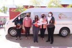 Integrantes de Casa Hogar en SJC se beneficiarán con la donación de 2 camionetas