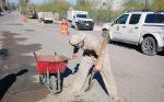 Campaña de Bacheo rehabilita más de 3 km en La Ribera