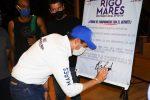 Firma Rigo Mares propuestas con deportistas de La Paz