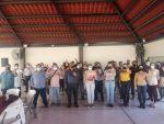 Se reúne Milena Quiroga con trabajadores del OOMSAPAS