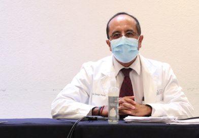 El descenso de casos de coronavirus podria darse en 2 semanas: Víctor George