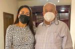 Se reune Edith Aguilar con el Gobernador electo Víctor Castro